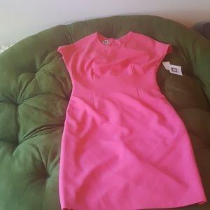 Bright Pink Anne Klein Dress - NWT